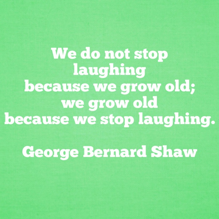 quote on aging by george bernard shaw