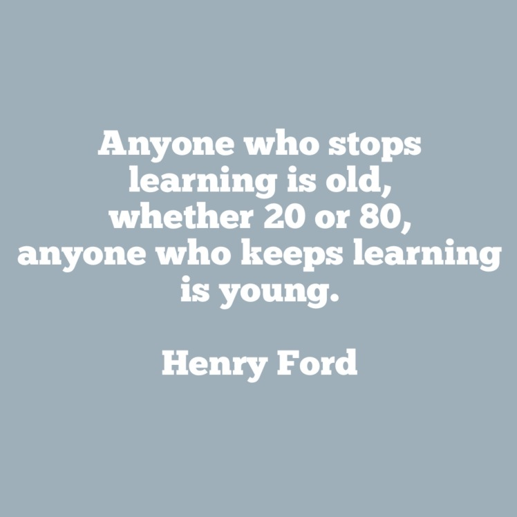 quote on aging by henry ford